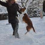 Jasmine hoppar!