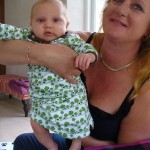 Mitt barnbarn Axel Wilton