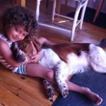 Två som gillar varandra: Wilton och Ellie!
